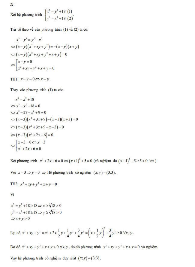 Đáp án đề thi tuyển sinh lớp 10 môn Toán năm 2020 Đồng Nai câu 4 ý 2