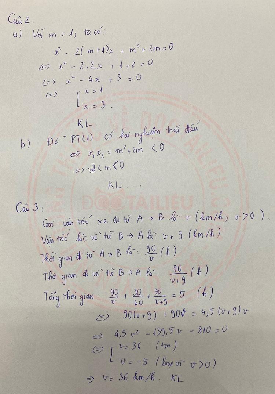 Đáp án đề thi Toán vào lớp 10 Hà Giang 2020 câu 2