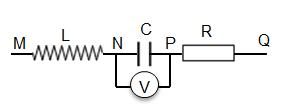 Cho mạch điện như hình vẽ. Đặt hiệu điện thế xoay chiều có tần số 50 Hz vào hai hình ảnh 1
