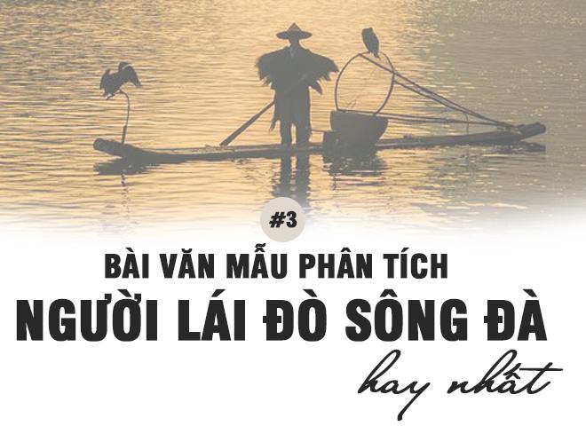 Van mau phan tich bai Nguoi lai do song Da