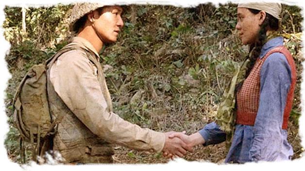 Cảnh chia tay trong bài Việt Bắc