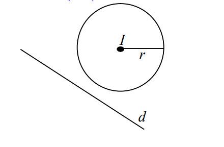 Cho đường thẳng d, với mỗi điểm M, ta xác định M