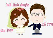 Xem tuổi chồng 1991 và vợ 1997 có hợp nhau không