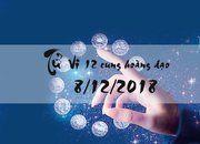 Tử vi 8/12/2018 của các cung hoàng đạo chính xác nhất