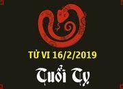 Tử vi tuổi Tỵ thứ 7 ngày 16/2/2019