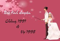 Xem tuổi chồng 1991 và vợ 1998 có hợp nhau không