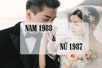 Chồng 1988 vợ 1987 có hợp nhau không