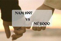 Chồng 1997 vợ 2000 có hợp nhau không