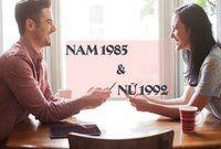 Chồng 1985 vợ 1992 có hợp nhau không