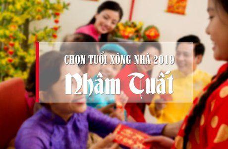 Giúp chủ nhà Nhâm Tuất chọn tuổi xông nhà năm 2019 đẹp nhất