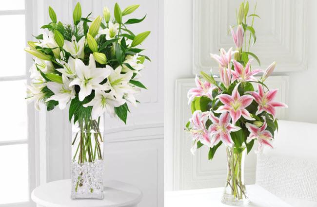 Kết quả hình ảnh cho cắm hoa ly