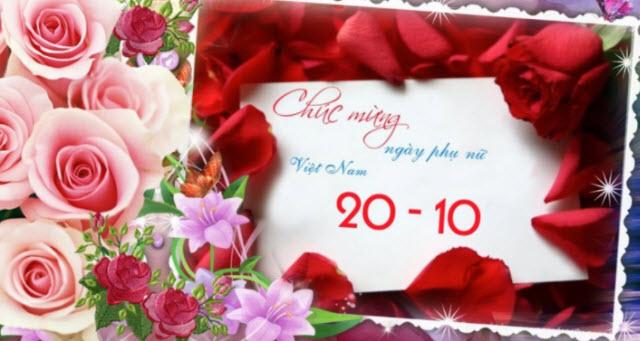 loi dan chuong trinh van nghe cho ngay 20-10 hay nhat